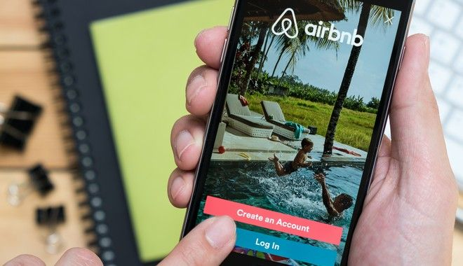 Η εφαρμογή της Airbnb