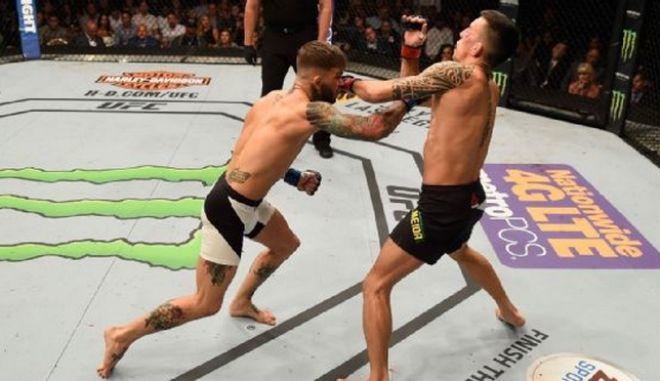 BOOM! Απίστευτο knockout στο UFC στο πρώτο λεπτό