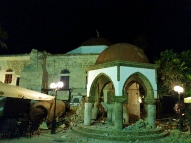 Κως: Στα 6,6 Ρίχτερ αναθεωρήθηκε ο σεισμός. Δύο νεκροί και δεκάδες τραυματίες