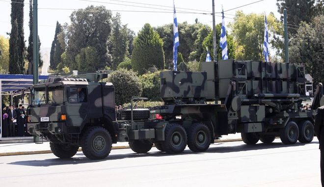 Patriot σε στρατιωτική παρέλαση στην Αθήνα