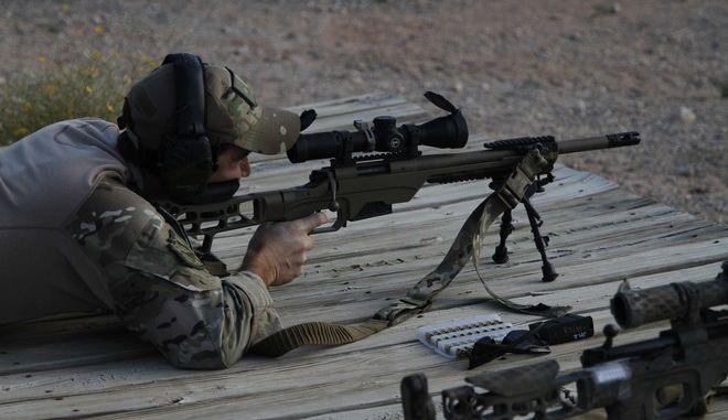 Χρήση όπλου από στρατιώτη