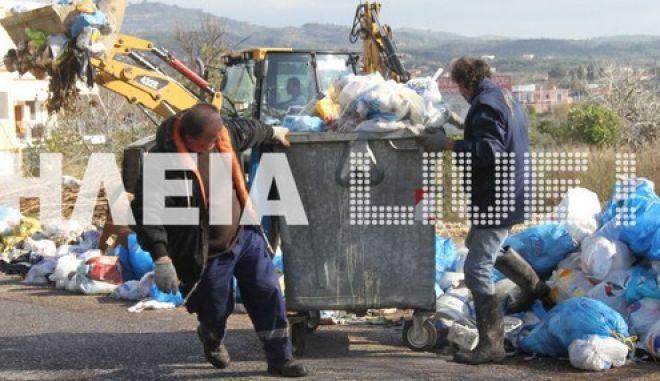 Λύση για τα σκουπίδια με οικόπεδο από την Εκκλησία