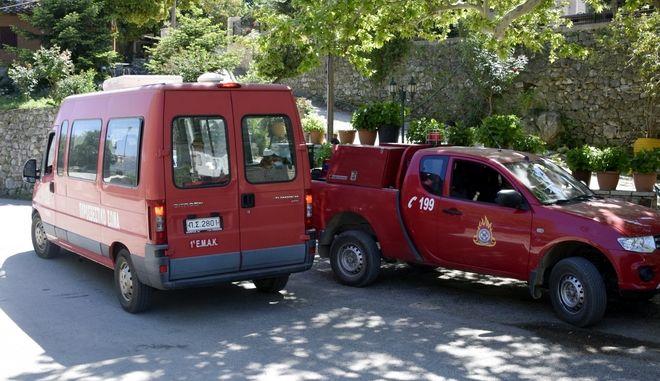 Οχήματα της Πυροσβεστικής