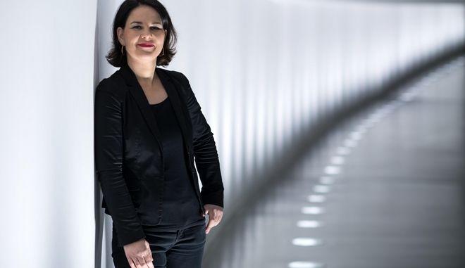 Η Αναλένα Μπέρμποκ στη γερμανική Βουλή