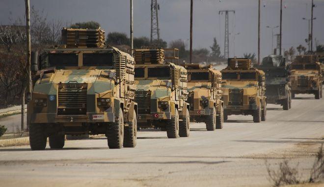 Τουρκικός στρατός στη Συρία (ΦΩΤΟ Αρχείου)