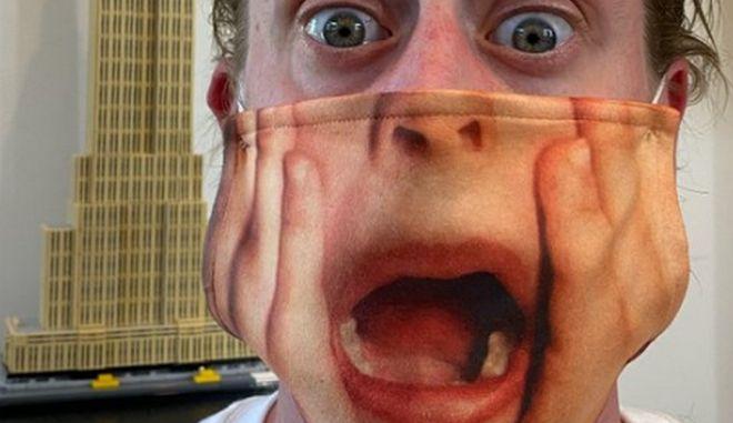 Μακόλεϊ Κάλκιν: Φόρεσε μάσκα και αναβίωσε την διασημότερη σκηνή του Home Alone