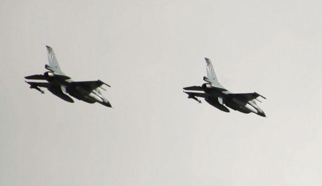 ΦΩΤΟΓΡΑΦΙΑ ΑΡΧΕΙΟ-ΑΕΡΟΣΚΑΦΟΣ F-16.(EUROKINISSI-ΓΙΩΡΓΟΣ ΚΟΝΤΑΡΙΝΗΣ)
