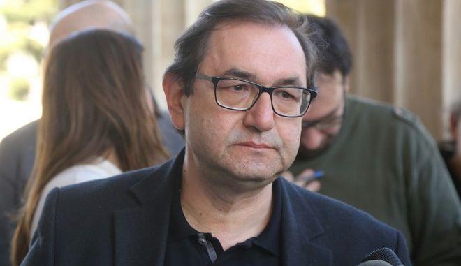 ΑΘΗΝΑ-Έρευνα της εξεταστικής για τα μνημόνια από τον Οκτώβριο του 2009 προτείνει ο ΣΥΡΙΖΑ,ανακοίνωσε γραμματέας της κοινοβουλευτικής ομάδας του ΣΥΡΙΖΑ, Χρήστος Μαντάς.(EUROKINISSI-ΠΑΝΑΓΟΠΟΥΛΟΥ ΓΕΩΡΓΙΑ)