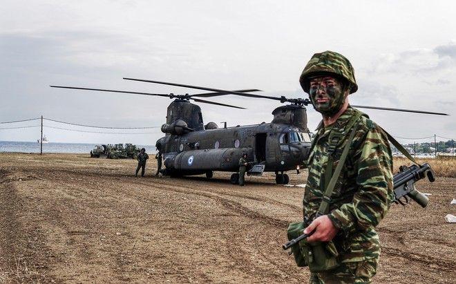 Εικόνα από την στρατιωτική άσκηση