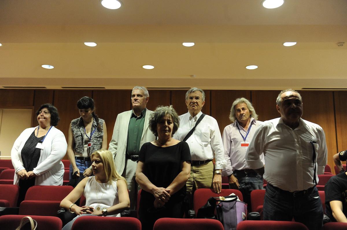 Συνάντηση με την οικογένεια Φύσσα και παράσταση στο ακροατήριο της δίκης της Χρυσής Αυγής, είχε η Evelyne Huytebroeck, μέλος του Κοινοβουλίου των Βρυξελλών και μέλος της Επιτροπής του Ευρωπαϊκού Πράσινου Κόμματος, και αντιπροσωπεία των Οικολόγων Πρασίνων.