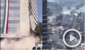 Σεισμός στο Μεξικό: Βίντεο - ντοκουμέντο από την στιγμή του Εγκέλαδου