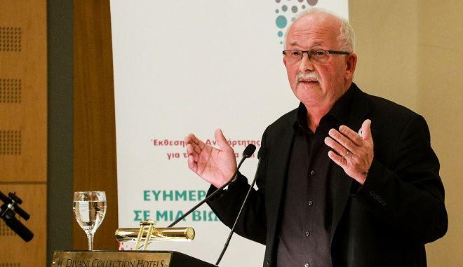 Ο πρόεδρος της Προοδευτικής Συμμαχίας των Σοσιαλιστών και Δημοκρατών του Ευρωπαϊκού Κοινοβουλίου Ούντο Μπούλμαν.
