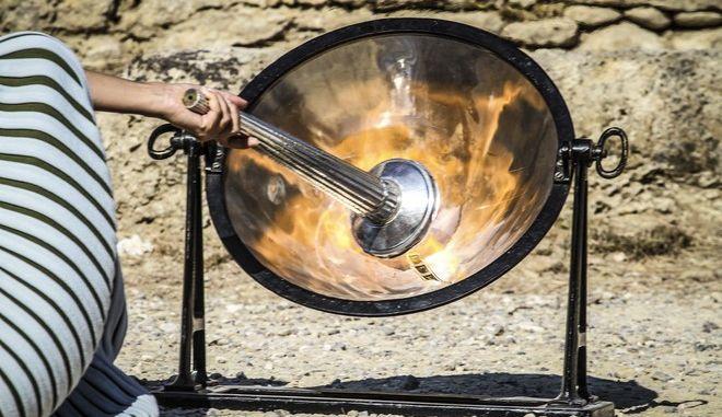 Τελετή Αφής της Ολυμπιακής Φλόγας