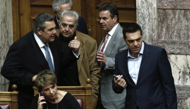 Discussion regarding the priorities actions, at the plenary hall of the Greek parliament, on Nov. 19, 2015 /           ,  19  2015.