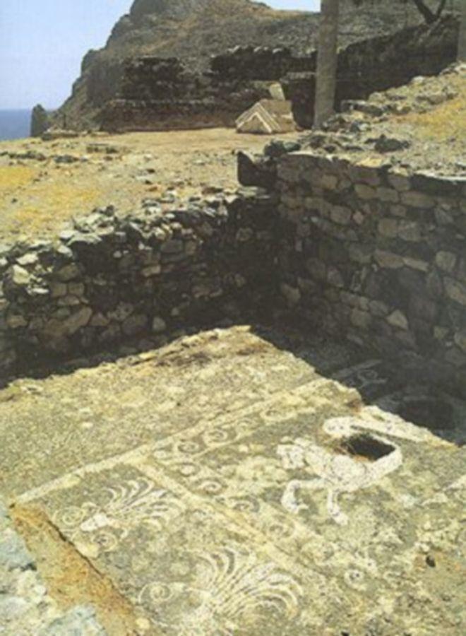 Αρχαιολογικός χώρος στην Κρήτη