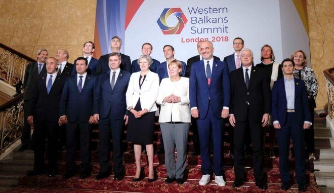 Σύνοδος Δ.Βαλκανίων: Στήριξη ΕΕ για την υλοποίηση της συμφωνίας των Πρεσπών