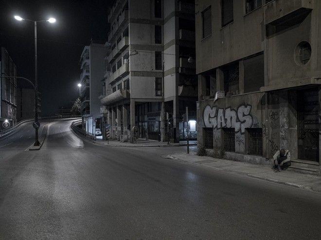 Οδός Αχιλλέως, Σάββατο βράδυ στο κέντρο της πόλης, ©Δημήτρης Μιχαλάκης