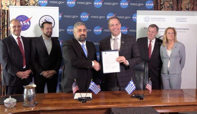 Συμφωνία Συνεργασίας ΕΛΔΟ-NASA