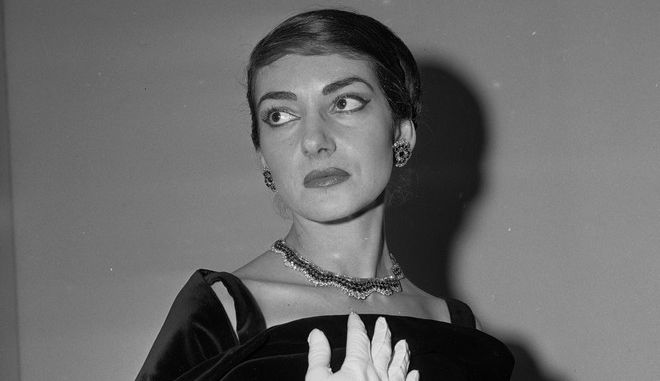 Η απόλυτη σοπράνο Μαρία Κάλλας