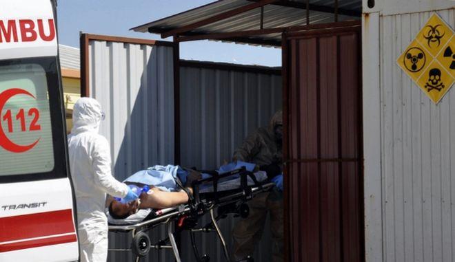 Η Τουρκία υποστηρίζει ότι έχει αποδείξεις για χρήση χημικών όπλων στη Συρία