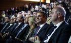 Τους υποψήφιους για τις Ευρωεκλογές παρουσίασε η Νέα Δημοκρατία σε εκδήλωση, παρουσία του Προέδρου του κόμματος Κυριάκου Μητσοτάκη (EUROKINISSI/ΣΤΕΛΙΟΣ ΜΙΣΙΝΑΣ)