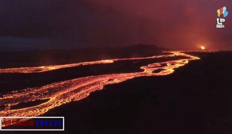 Μαγευτικό ταξίδι: Τα ηφαίστεια της Ελλάδας από ψηλά