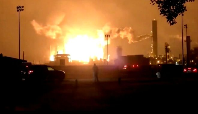 Έκρηξη σε εργοστάσιο χημικών στο Τέξας