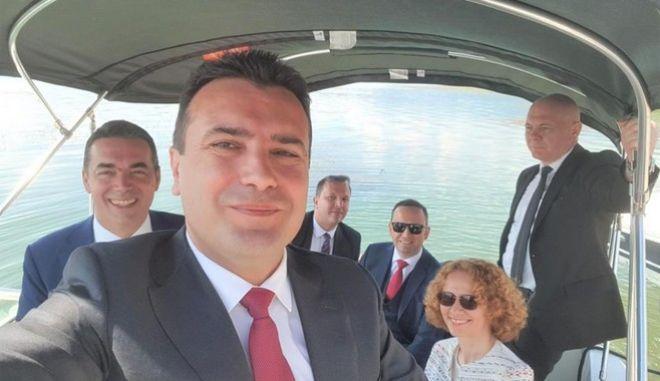 Η selfie του Ζόραν Ζάεφ