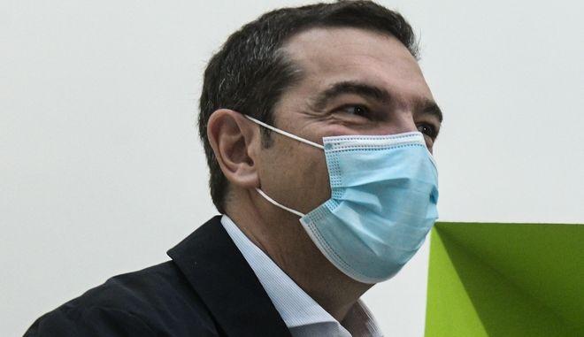 O Πρόεδρος του ΣΥΡΙΖΑ, Αλέξης Τσίπρας