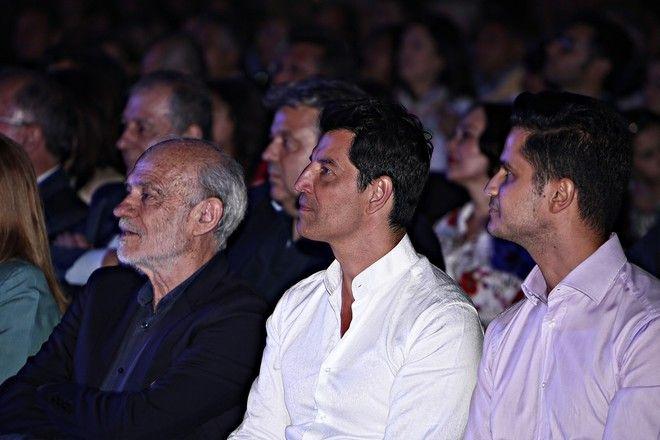 19 , 2017 / Tribute Concert to Mikis Theodorakis in the Panathenaic Stadium also known as Kallimarmaro in Athens, Greece on Jun. 19, 2017