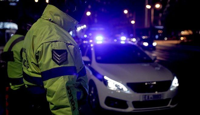 Έλεγχος της Ελληνικής αστυνομίας