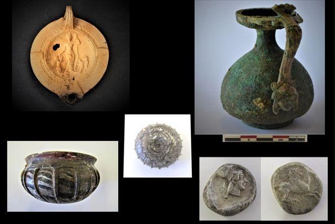 Σημαντικά κτερίσματα από τις ανασκαφές στην αρχαία Τενέα