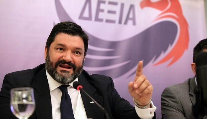 Ο Πρόεδρος του κόμματος ΝΕΑ ΔΕΞΙΑ, Φαήλος Κρανιδιώτης