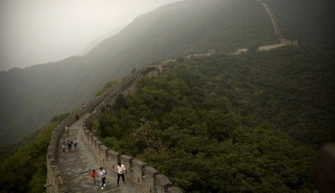 Γενική εικόνα από το Σινικό Τείχος