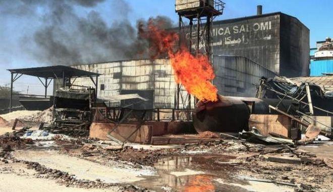 Έκρηξη σε εργοστάσιο κεραμικών στο Σουδάν