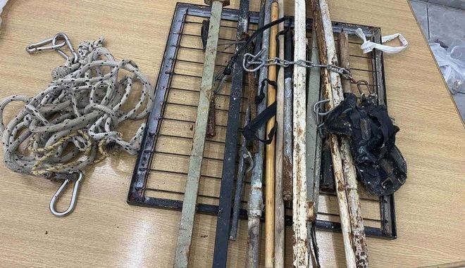 Ακόμα και υλικά για απόδραση βρέθηκαν στις Φυλακές Κορυδαλλού