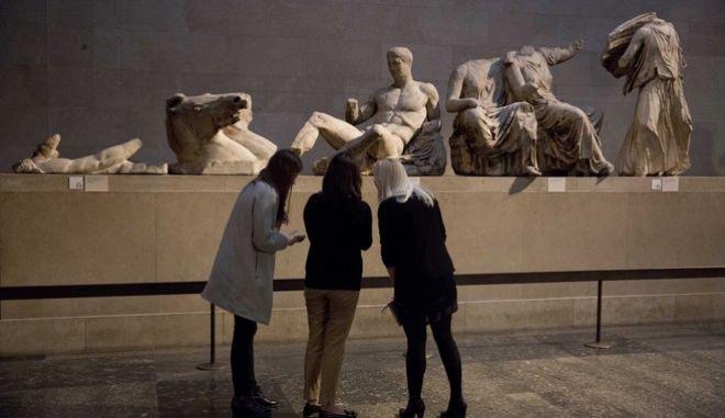 Τα Γλυπτά του Παρθενώνα στο Βρετανικό Μουσείο