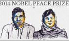 Στη 17χρονη Μαλάλα Γιουσαφζάι και Κάιλας Σατιάρτι το Νόμπελ Ειρήνης 2014