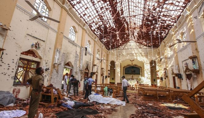 Βομβιστικές επιθέσεις στη Σρι Λάνκα