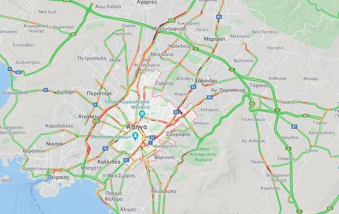 Κίνηση: Νέα κυκλοφοριακά προβλήματα στον Κηφισό