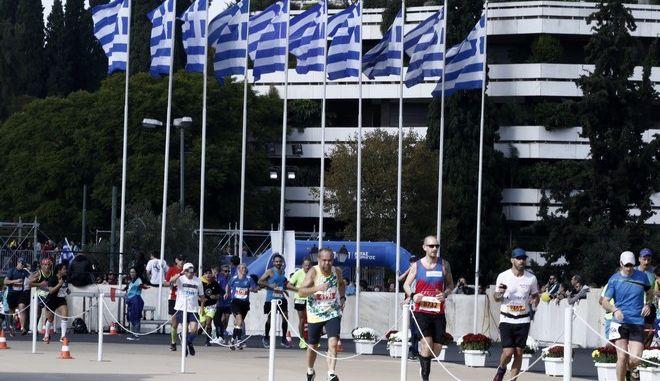 Φωτογραφία από τον αυθεντικό Μαραθώνιο Αθήνας