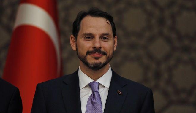 Ο γαμπρός του Ερντογάν και νέος Υπουργός Οικονομικών της Τουρκίας