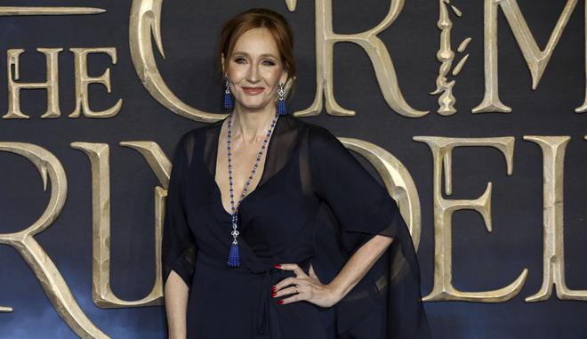 Η συγγραφέας J.K. Rowling σε πρεμιέρα (φωτογραφία αρχείου)