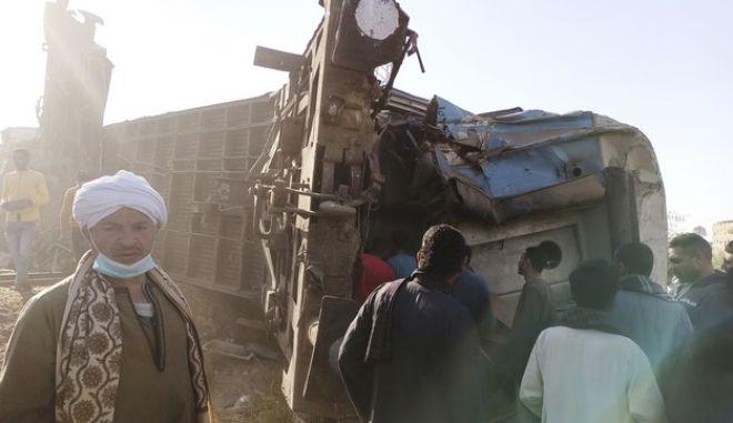 Ατύχημα με τρένο στην Αίγυπτο (φωτογραφία αρχείου)