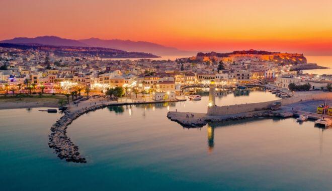 Το λιμάνι του Ρεθύμνου, Κρήτη