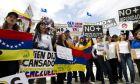 Φωτογραφία από προηγούμενη συγκέντρωση στη Βενεζουέλα