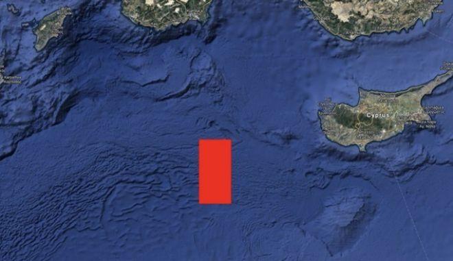 Η Τουρκία ξεκινά σεισμικές έρευνες στα όρια των ΑΟΖ Ελλάδας - Κύπρου - Αιγύπτου