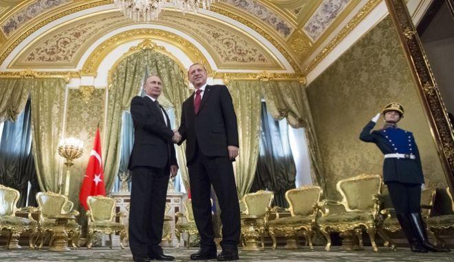 Συμφωνία Ερντογάν - Πούτιν σε άμυνα και ενέργεια