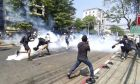 Διαδήλωση στη Μιανμάρ