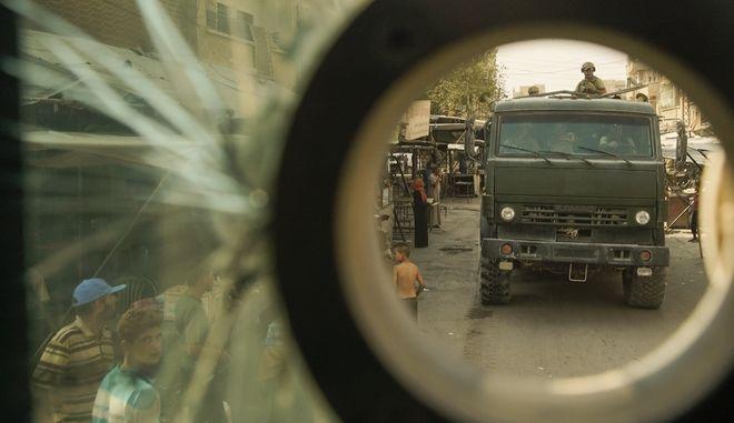Ρωσικές στρατιωτικές δυνάμεις στη Συρία